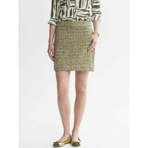 TALBOTS Tweed Cotton Pencil Skirt